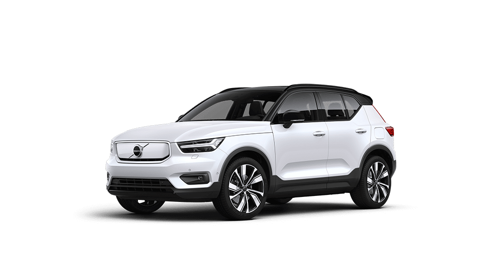 XC40 Recharge Crystal White Pearl