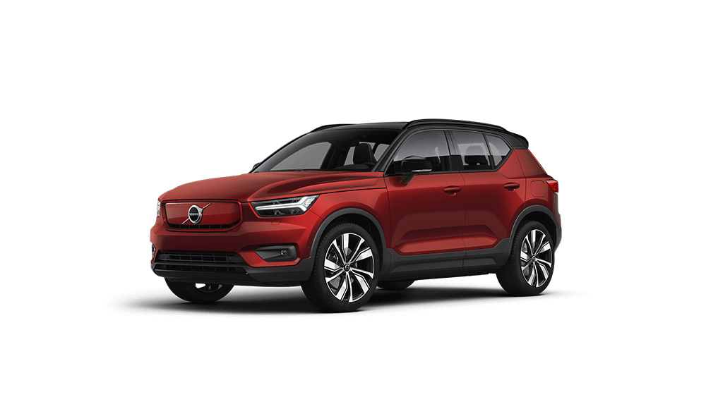 XC40 Recharge Fusion Red